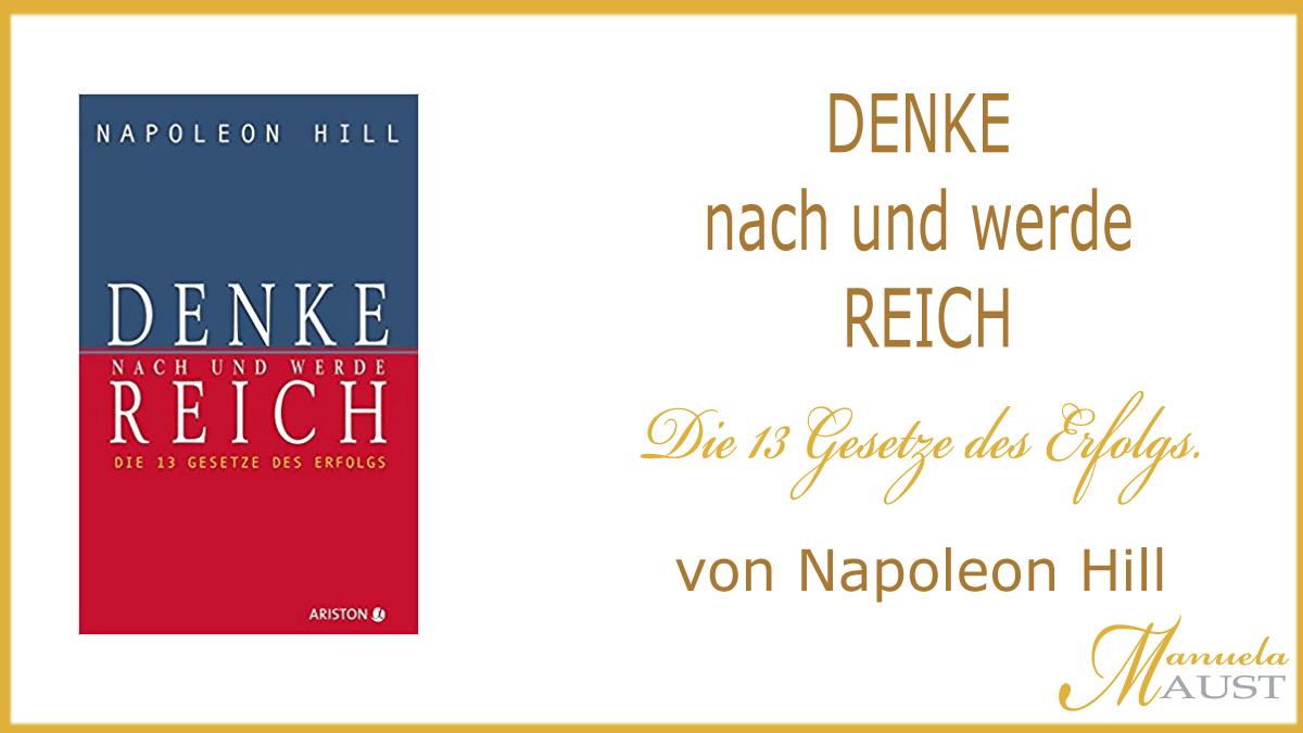 Buch Tipp: Denke nach und werde reich von Napoleon Hill