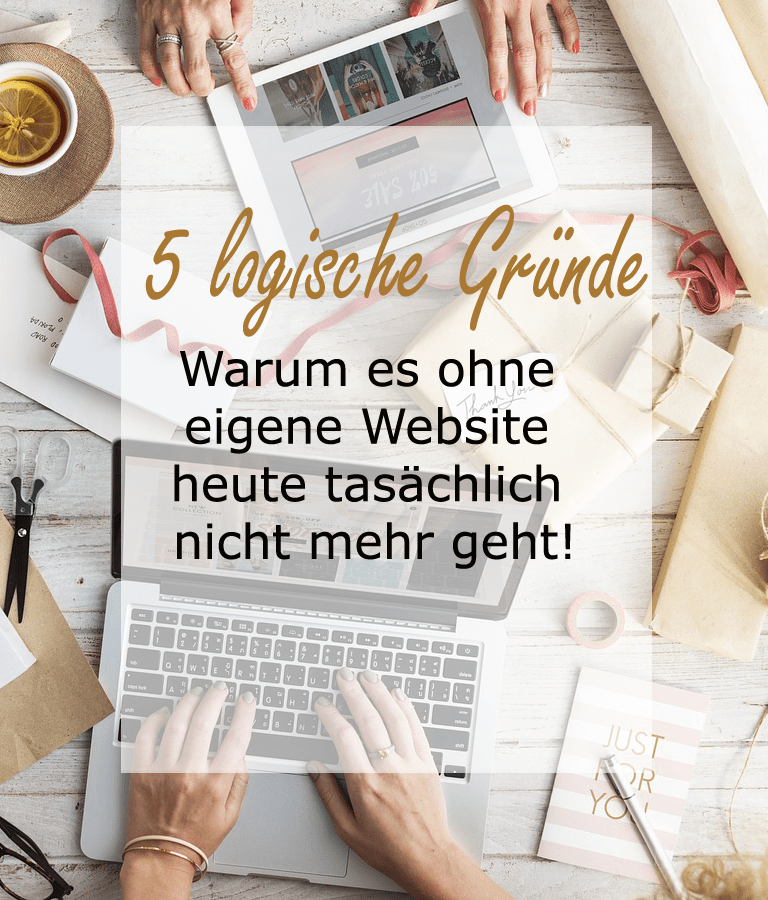 Warum einen eigene Website so wichtig ist