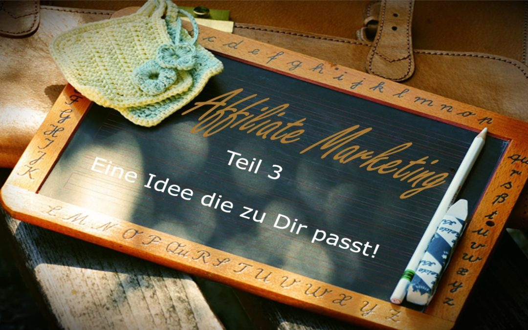 Affiliate Marketing – 4 Faktoren, die über deinen Erfolg entscheiden