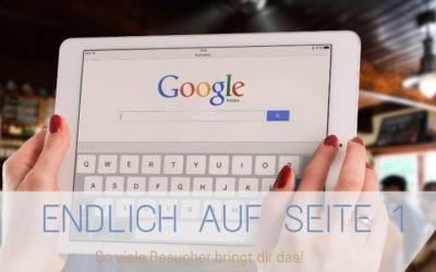 3 Gründe, warum dich niemand findet, obwohl du auf Seite 1 bei Google bist – und wie du das ändern kannst