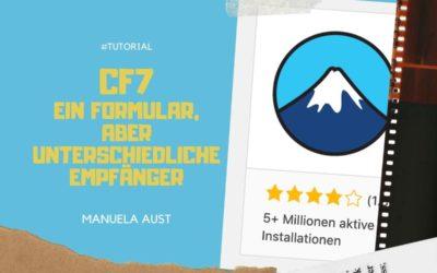 Tutorial: Contact Form 7 – auswählbare Empfänger