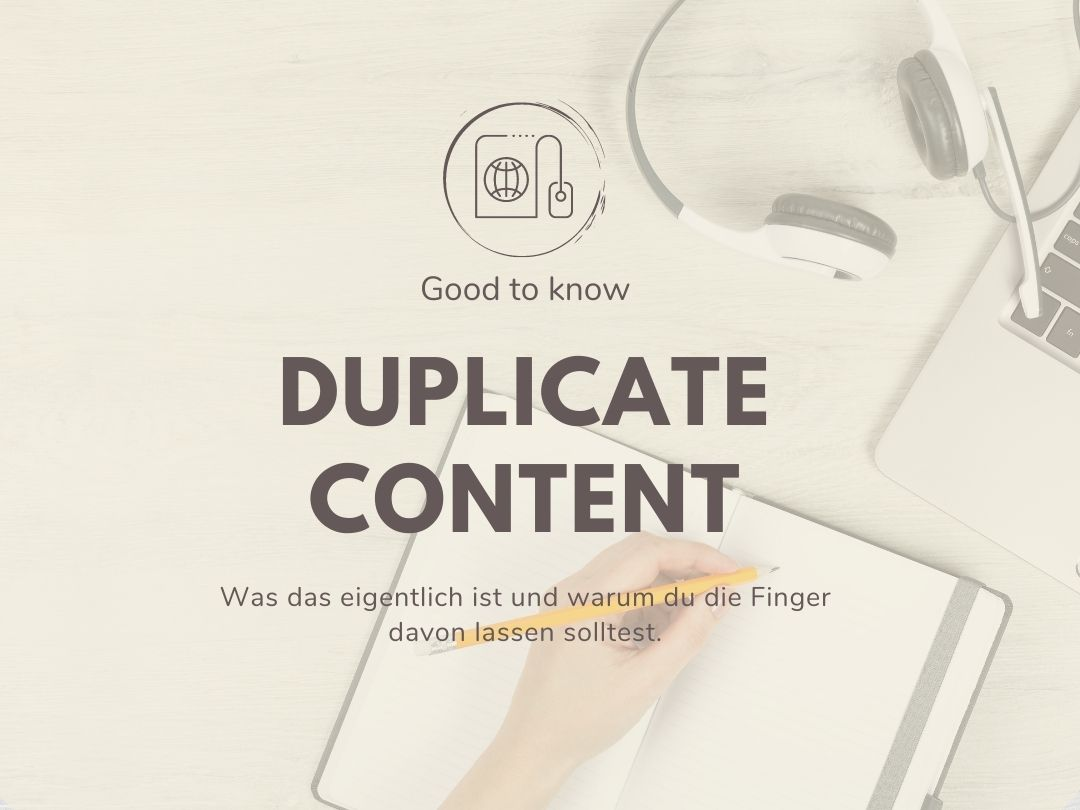 Was ist Duplicate Content