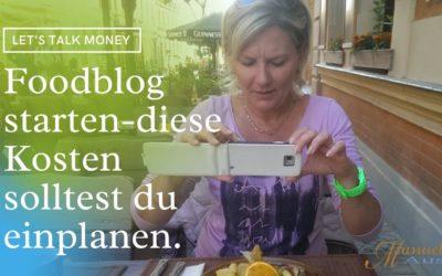 Was kostet es einen Foodblog zu starten