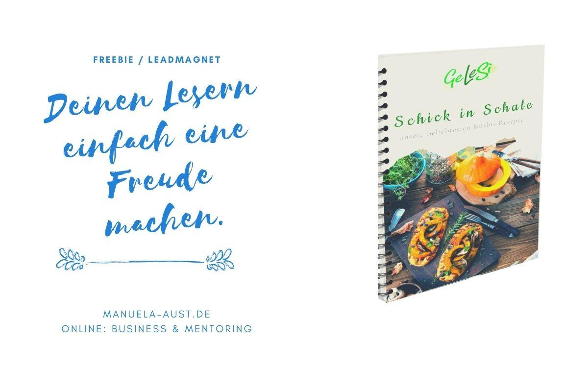 Leadmagnet / Freebie fürs Online Marketing