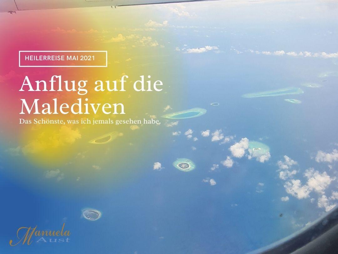 Ankunft auf den Malediven