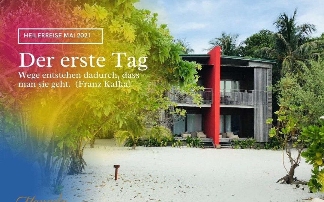 """Der erste Tag im """"The Barefoot Eco Hotel"""" auf Hanimaadhoo"""