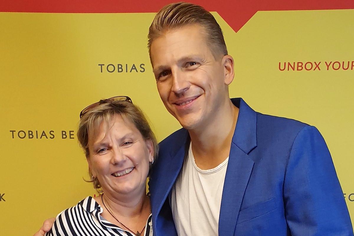 Manuela Aust mit Tobias Beck