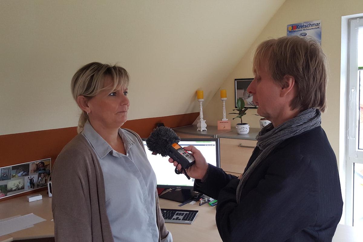 MDR Interview mit Manuela Aust