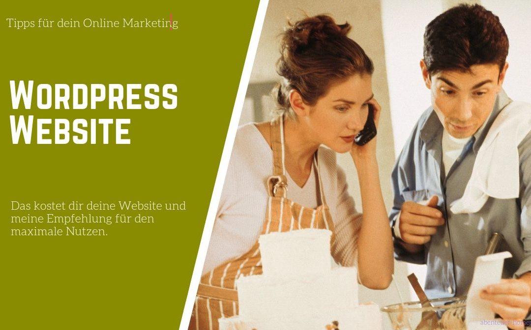 WordPress Website: Was kostet das?