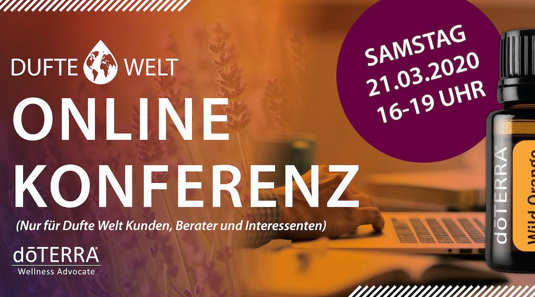Vorgestellt: Die erste Online Konferenz von Dufte Welt – doTERRA & ätherische Öle