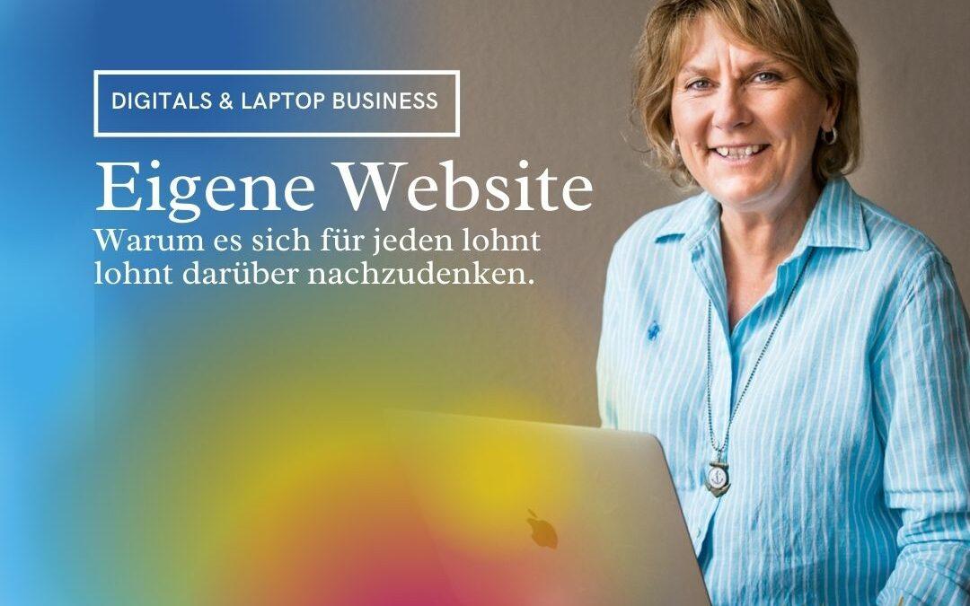 Deine eine eigene Homepage – warum ab ins Netz